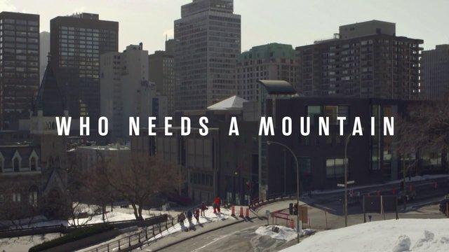 Who needs a mountain ? o'neill