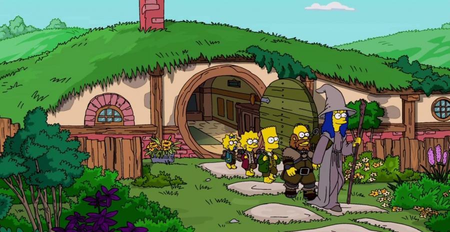 Simpsons - The Hobbit
