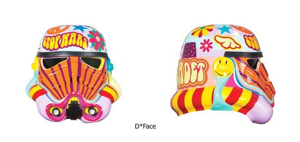 D*Face R2D2 Stormtrooper