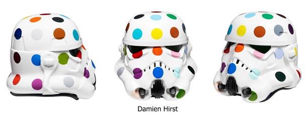 Damien Hirst R2D2 Stormtrooper