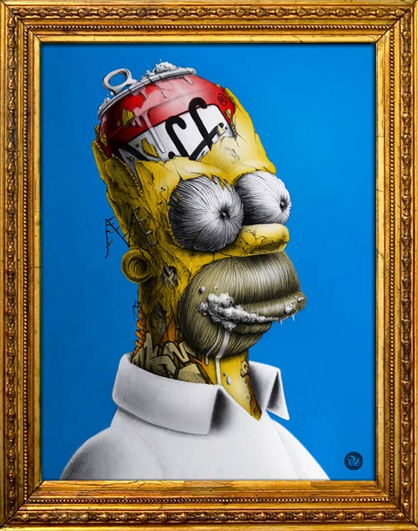 Homer Simpson by Pez