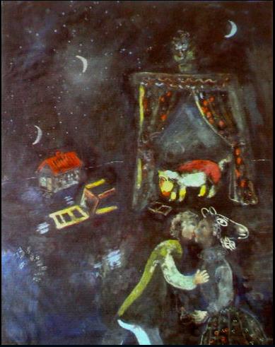 Tableau inconnu de Marc Chagall