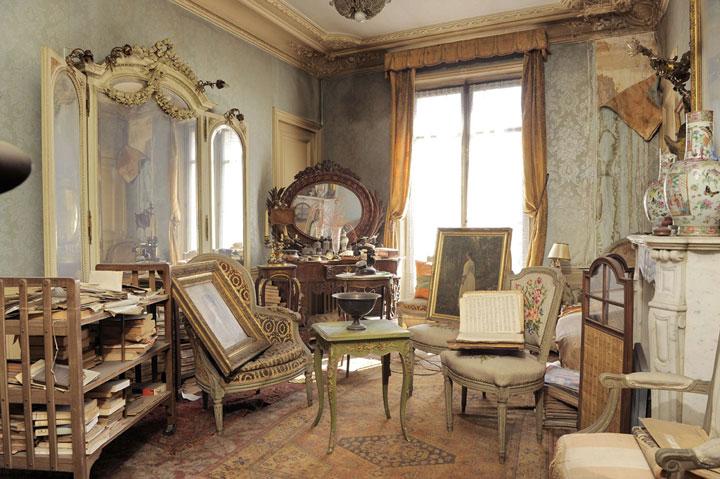 Chez madame de florian à Paris