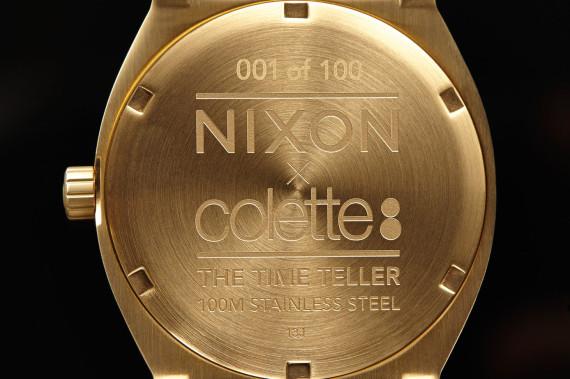 Hulubberlu - La nouvelle collaboration de Nixon et Colette pour la LTD Time Teller