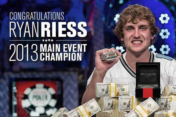 Ryan Ries nouveau Champion du Monde, $8,361,570 de gains !