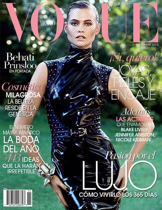 Behati Prinsloo vogue mexique novembre 2013
