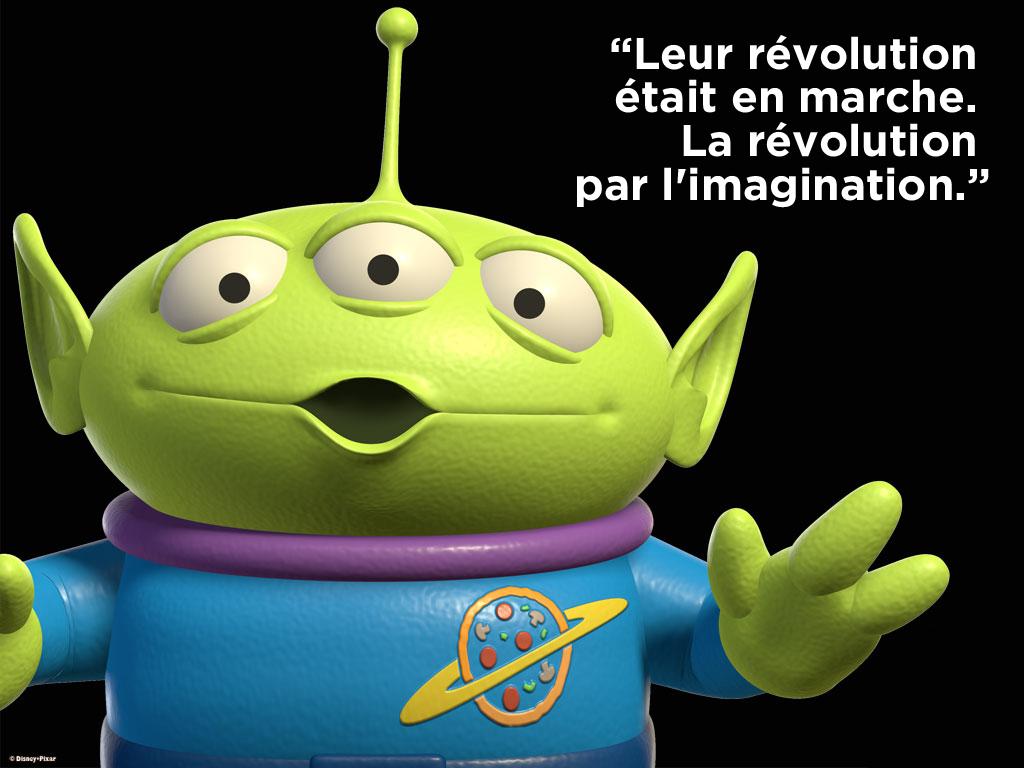 La révolution par l'imagination