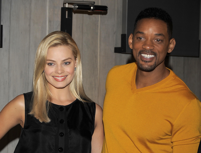 Will Smith et Margot Robbie for 'Focus' à Buenos Aires