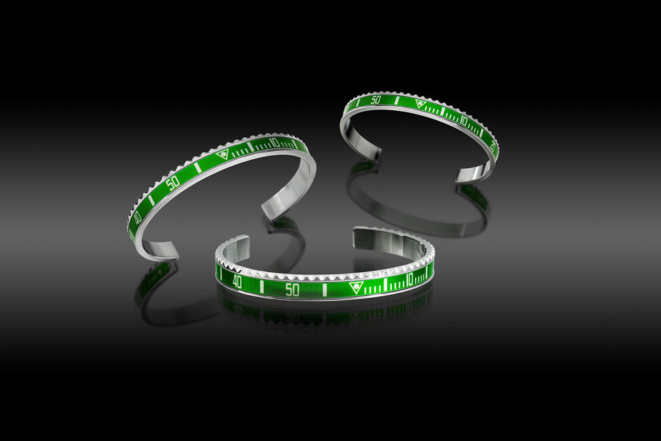 bracelet Speedometer version verte