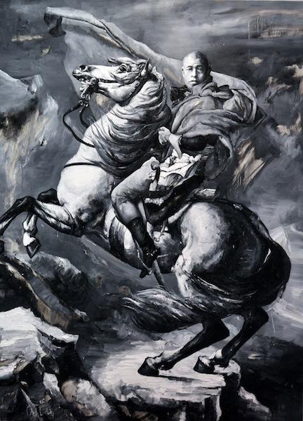 Kazumu au cheval 190x150 (napoléon)