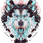 illustration loup YoAz