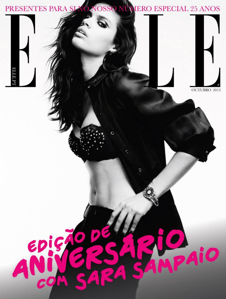 2 of 4 ELLE Portugal october 2013