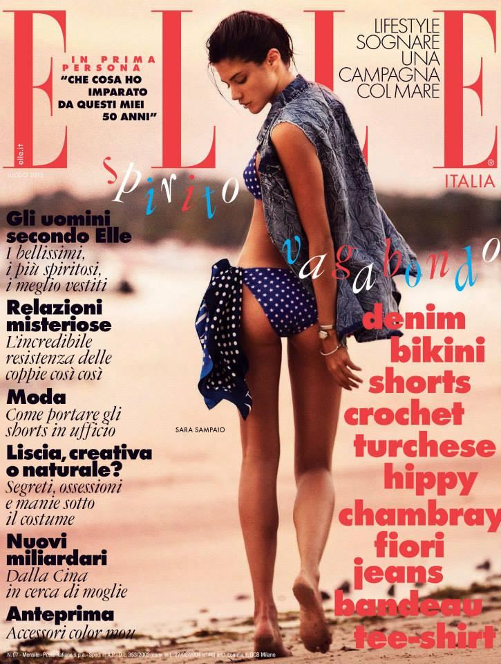 ELLE Italy July 2013