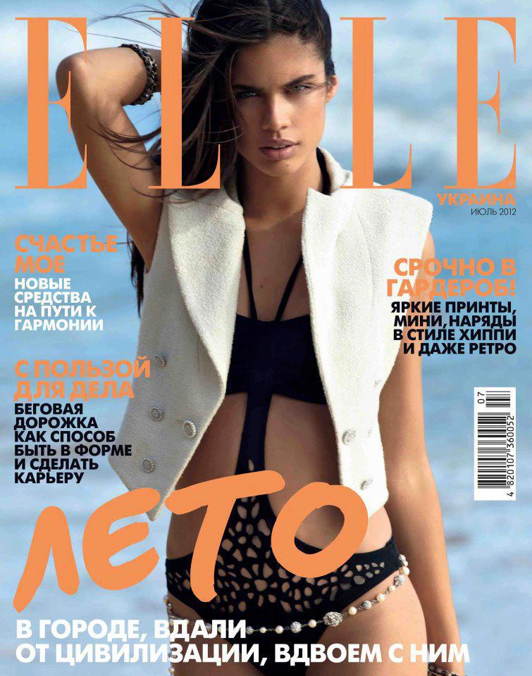 Elle Ukraine July 2012 (Reprint from elle italia)
