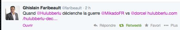 Ghislain FARIBEAULT, Vice President Media chez Dorcel sur twitter