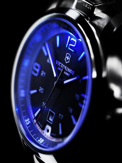 NIGHTVISION éclairage cadran bleu