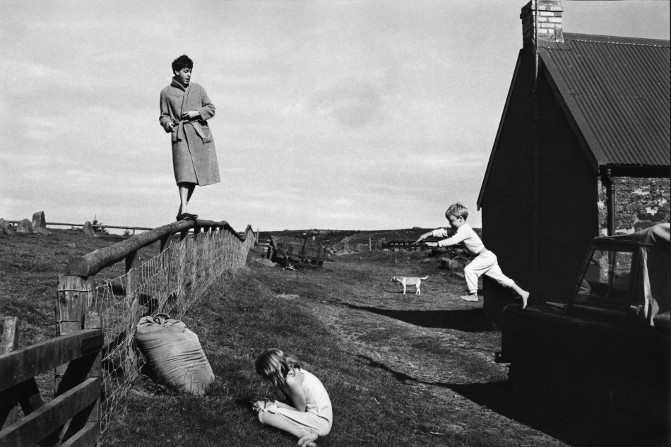Paul, Stella et James McCartney (Ecosse 1982)