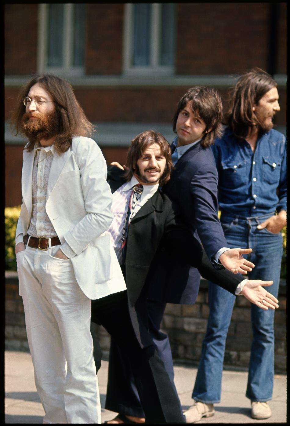 Les Beatles à Abbey Road (Londres 1969)
