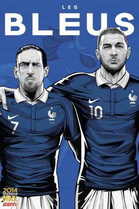 Ribéry et Benzema pour la FRANCE