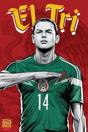 Hernandez et le Mexique