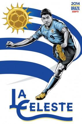 Luis Suarez et l'Uruguay
