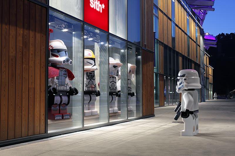 Un Stormtrooper qui fait du shopping