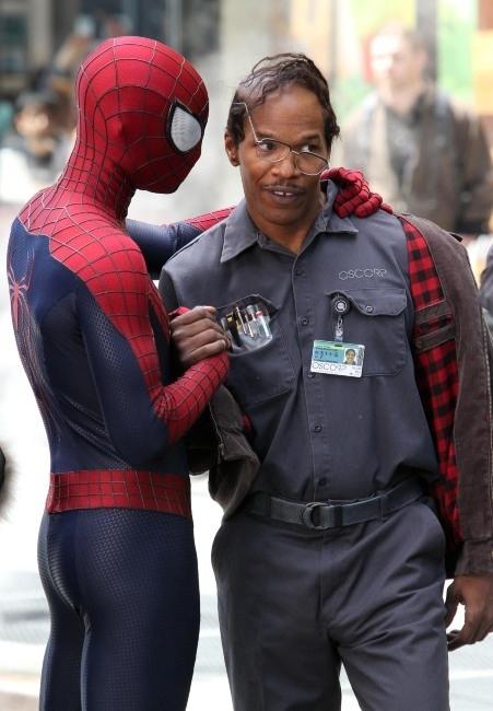 Spiderman & Foxx