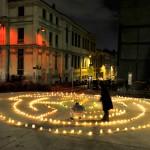 La promenade des lumignons du jardin d'Ornano place Morel Lyon