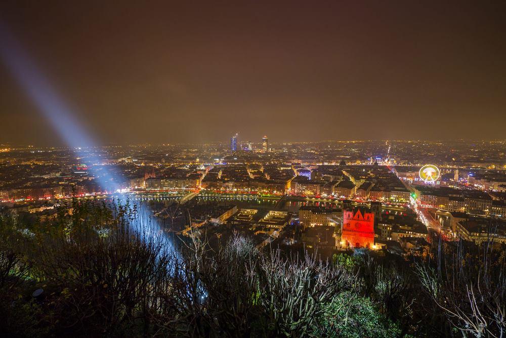 Lyon les lumières - photo Pioucube