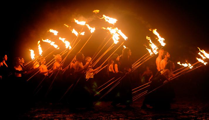 variations sur flammes