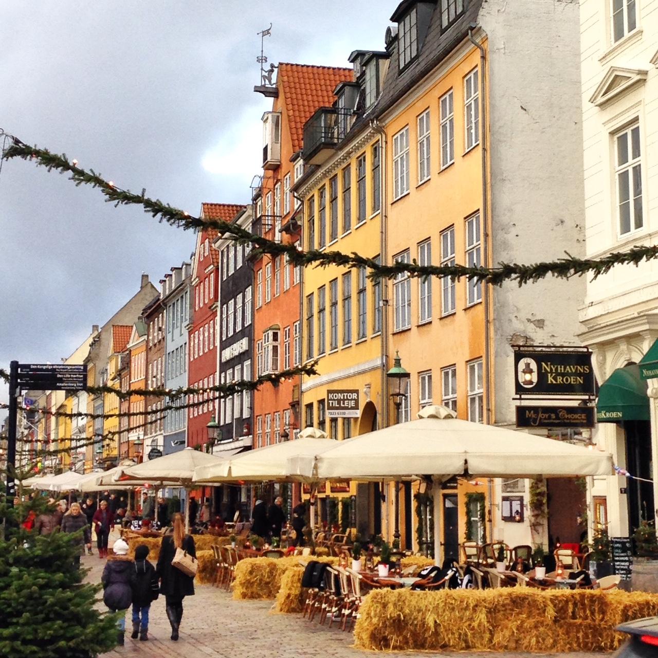 Une des rues principales de Copenhague