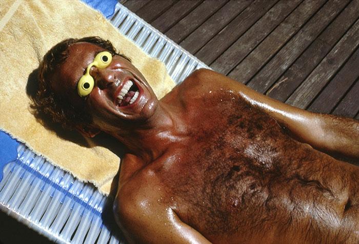 Roger-Steffens-fou bronzage hurluberlu
