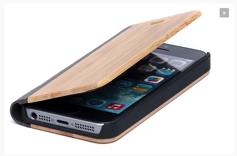coque d'Iphone Time For Wood