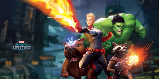 Powers United VR – Le jeu en réalité virtuelle by Marvel