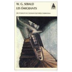 Les émigrants de W.G. Sebald