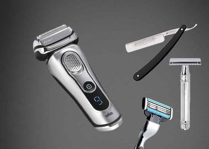 rasoir electrique ou manuel