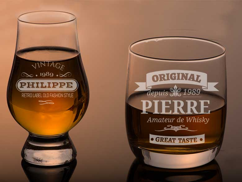 verre whisky personalise cadeau