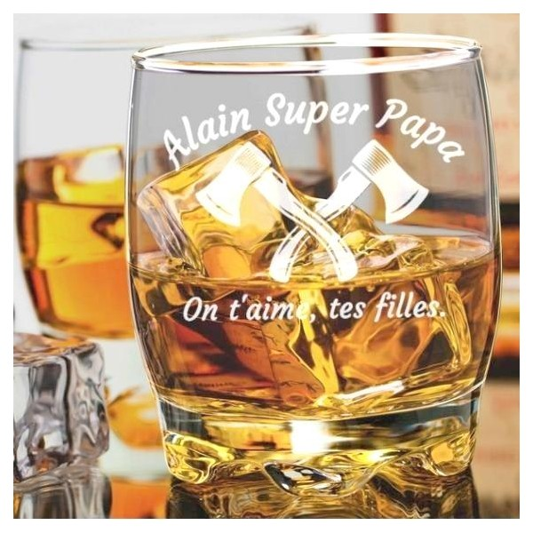 verre whisky personalise pas cher